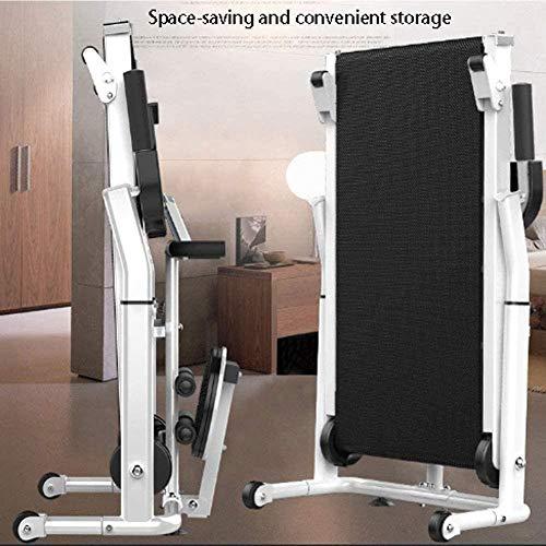 Cinta de Correr Plegable Multifuncional mecánico, hasta 150 kg, Tablet Holder, for la Seguridad del Caminar Y/Torsión de la Cintura/Abdominales/Tirando de la Cuerda