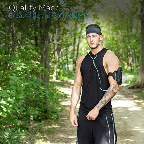 Cintas Pelo Mujer Hombre: Unisex Diadema De fitness para mujeres y hombres Banda para la cabeza para correr, yoga, ejercicio.