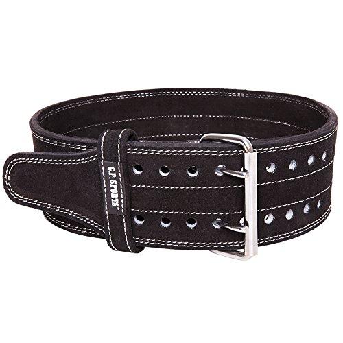 Cinturón para levantamiento de peso, Powerlifting, XL = 100-110cm