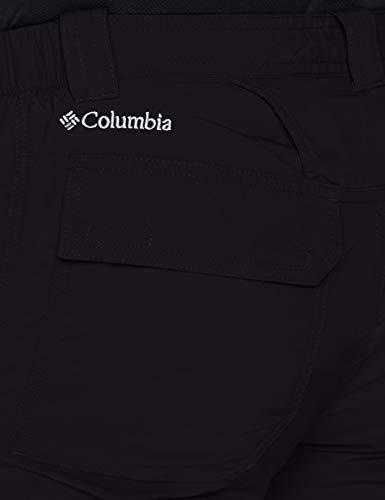 Columbia Silver Ridge II Cargo Short Pantalón Corto, Nailon, Hombre, Negro (Black), Talla US: W32/L12/ (EU W42/L12)