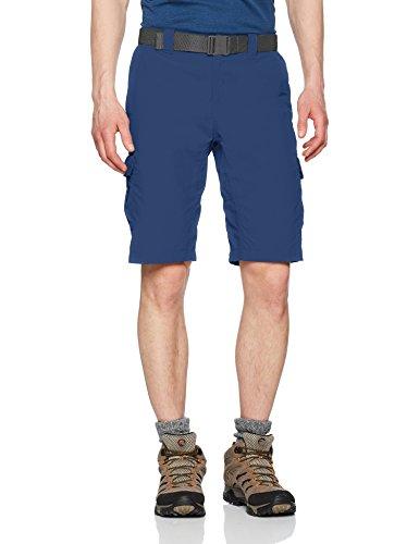 Columbia Silver Ridge II Shorts Cargo, Hombre, Azul (Carbon), W34/L10