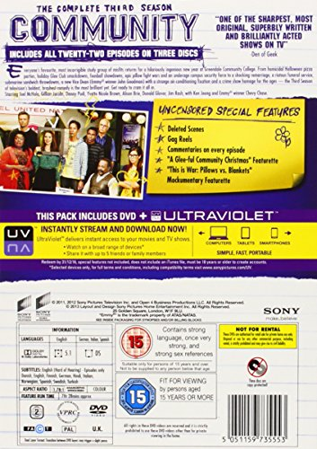 Community - Season 03 [Reino Unido] [DVD]