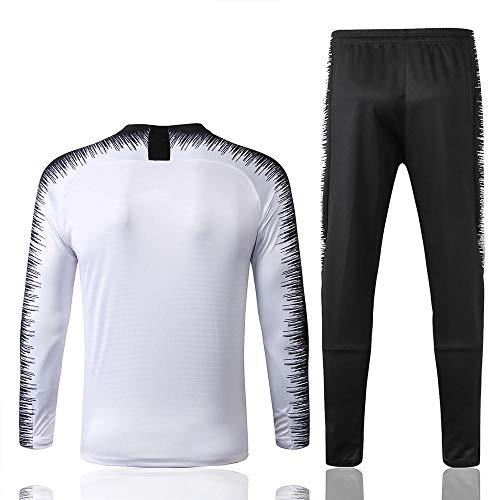 Conjunto de chándal y pantalón de fútbol para Hombre de Regalo, Camiseta de Manga Larga para Adultos @ Photo Color_L