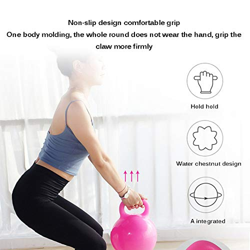 ConpConp Weight Kettle Bell, Yoga Kettle Bell Kettlebell Fuerza Llena de Agua Traning Gimnasio casero Fitness Crossfit