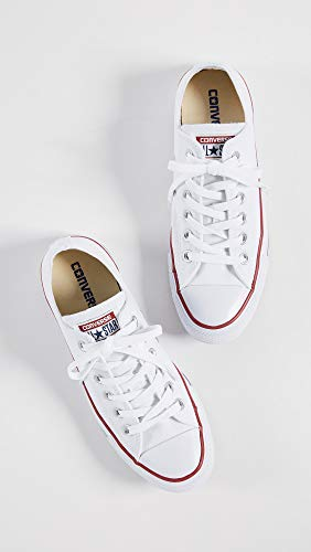 Converse Chuck Taylor All Star Ox, Zapatillas Unisex Adulto, Blanco (Optical White), 35 EU