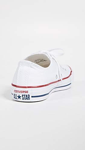 Converse Chuck Taylor All Star Ox, Zapatillas Unisex Adulto, Blanco (Optical White), 37.5 EU