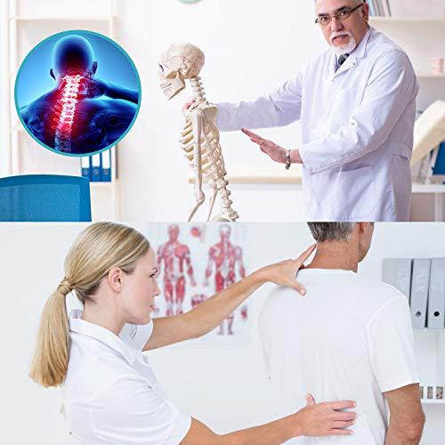 Corrector de Postura, Transpirable y Ajustable Corrector Espalda Hombro para Hombre y Mujer, Corrector Postura Espalda, Corrector de Espalda Recta, Aliviar Dolor y Mejorar Postura Hombro y Cuello