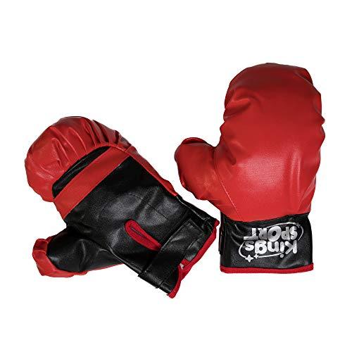 COSMOLINO Punchingball para niños - Box Set Niños - Equipo de Deporte para niños - con Guantes de Boxeo - Altura Regulable