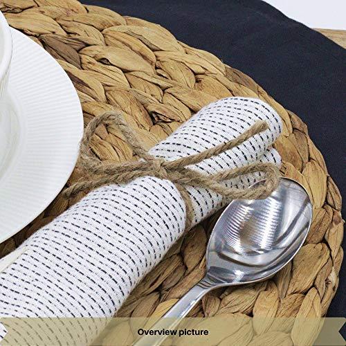 Creative Deco 985 Pies / 300 m Cordel Cuerda Yute Manualidades | 2-3 mm de Espesor | Rollo Grande Marrón Natural Gruesa Fuerte Decoración, Floristería, Artesanía y Bricolaje