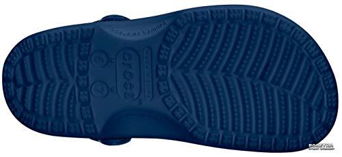 Crocs Classic U, Zuecos con Correa Trasera Unisex Adulto, Azul Navy 410, 43/44 EU
