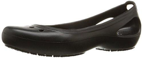 Crocs Kadee, Mujer Zapato plano, Negro (Black/Black), 39-40 EU