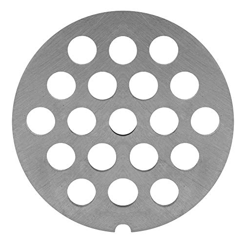 Cuchillo Para Moler Carne Cuchillo de Acero Inoxidable Para Picar Carne Disco de Disco Con Agujeros Accesorios de Repuesto Profesionales Para Molinos Picadoras(8 mm)