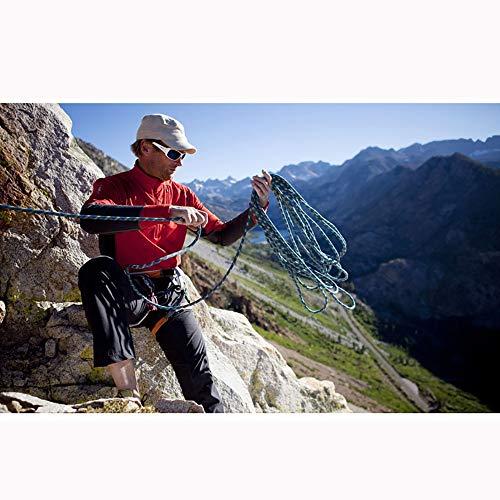 Cuerda de Seguridad 9.5MM al aire libre cuerda de escalada cuerda de escape Diámetro del Cuerpo de Bomberos de excursión subir la cuerda auxiliar para Senderismo Espeleología Camping Rescate