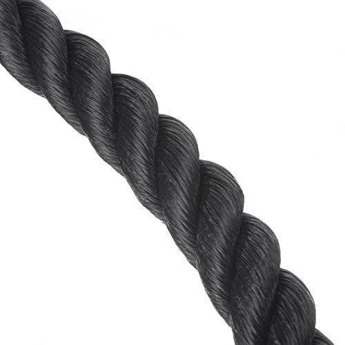Cuerda para tríceps Katai multigimnasio para empujar y tirar hacia abajoCuerda accesoria completa con enganche Mosquetón de gancho