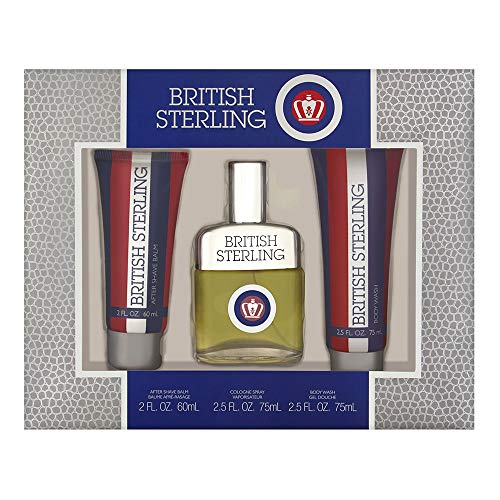 DANA British Sterling 3 Piece Fragrance Set by Dana