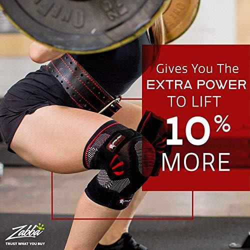 Dark Iron Fitness Cinturón Duradero de sujeción de Cuero Genuino con Hebilla Ajustable para Hombres y Mujeres X-Grande Negro