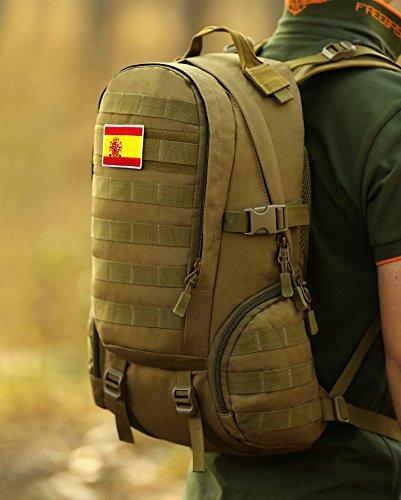 DCCN Parches Etiqueta Airsoft Adhesiva Militar Insignias Correas de para Mochilas