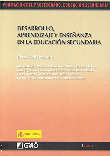 Desarrollo, aprendizaje y enseñanza en la educación secundaria
