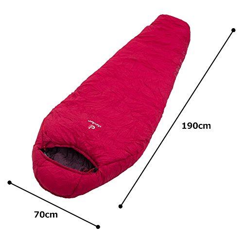 Deuter Orbit -5° - SL Bolso de Gimnasio 42 Centimeters Rojo (Cranberry-Aubergine)