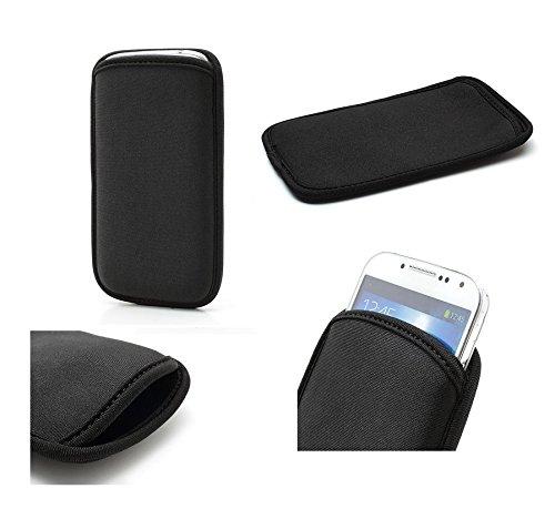 DFV mobile - Funda de Neopreno Premium Impermeable y Anti-Golpes para i Phone X/i Phone XS - Negra