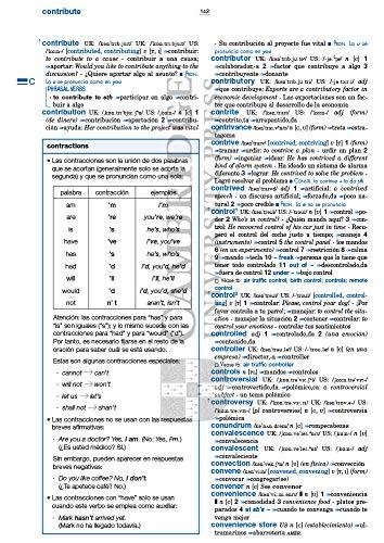 Diccionario Cambridge Pocket. English - Spanish Español - Inglés