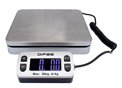 Dipse Parcel Mini–Balanza de paquetes con pantalla externa y gran potencia de pesaje 50kg x 0,002kg