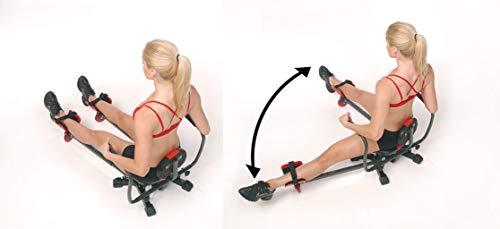 DIRECT TV OUTLET Abstorm Visto en TV Máquina fitness, adelgaza, tonifica y fortalece abductores, aductores, cintura y abdomen. Todo en uno!