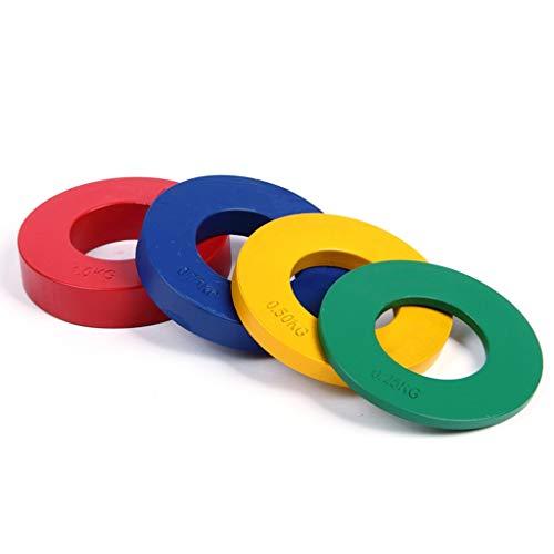 Discos de Pesas Discos Olímpicos Las placas fraccional Olímpicos conjunto de 8 placas de planchas fraccional de peso diseñado for Olympic Barbells for la fuerza de formación y Micro placas de peso pla