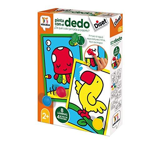 Diset- Pinto con el Dedo 2 años (68953)