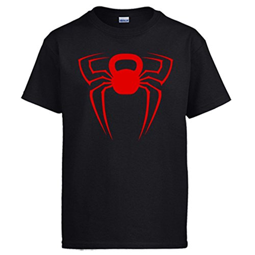Diver Camisetas Camiseta Kettlebell Spider - Negro, S
