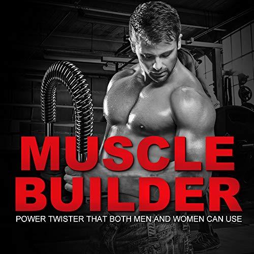 DOBEN Profesional Máquinas de brazo, Barra Flexible Pectorales de Fitness, Barra Musculación, Sports Power Twister 20kg, 30kg, 40kg, 50kg, 60kg, Arm Trainer