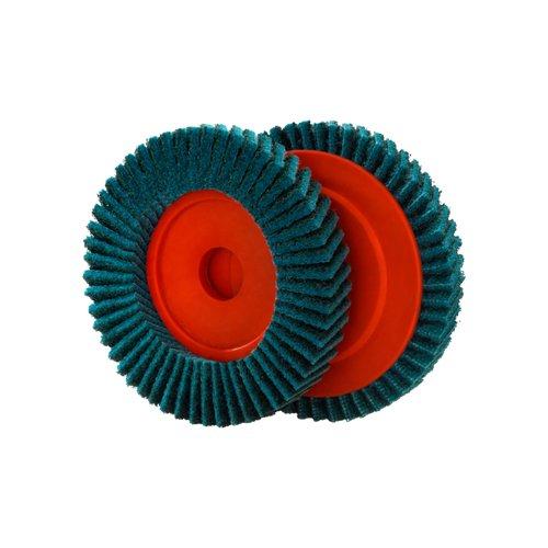 Dronco 5512307-100 - Disco para pulir para amoladora angular 125mm fino azul