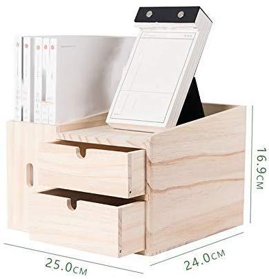DYB El Soporte del Monitor Dispositivo de Almacenamiento de Escritorio cajón de Almacenamiento Caja de la Tabla de múltiples Funciones Creativa estantería
