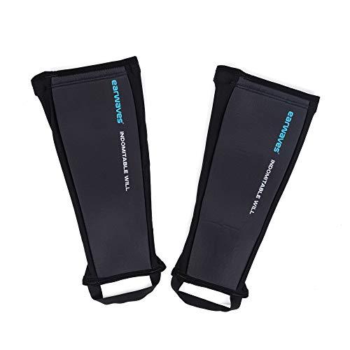 Earwaves ® Ungraze Shin Guards - Par de espinilleras de neopreno de 5mm para CrossFit, Box Jumps, Rope Climbs, Halterofilia, Cleans, Snatches.