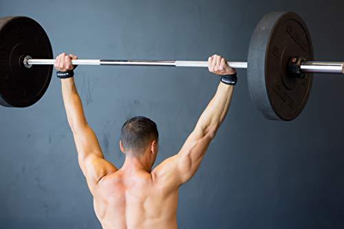 Element 26 IsoWraps Scaph Muñequeras para WODs, levantamiento de pesas, levantamiento olímpico – Muñequeras para hombre y mujer – Muñequeras con movilidad – Envolturas para escaphoid, M-L, Negro