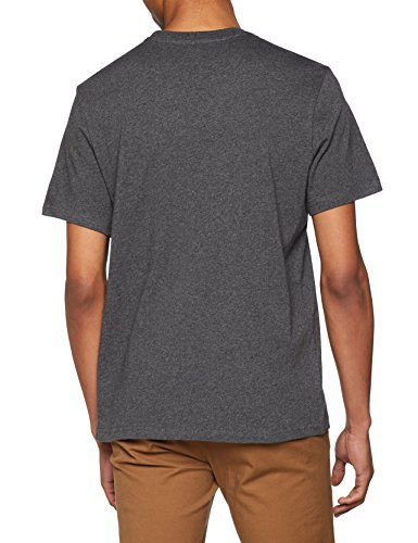Element Blazin SS Camiseta, Hombre, Gris (Charcoal Heathe), M