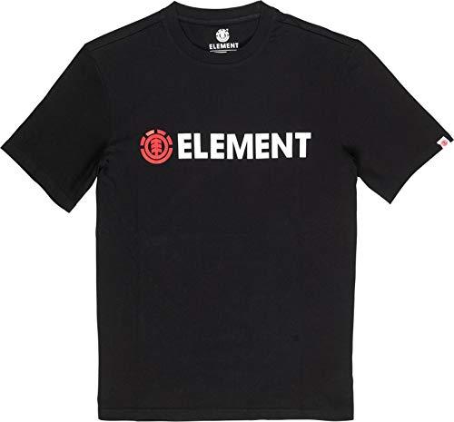 Element Blazin SS Tees, Hombre, Flint Black, M