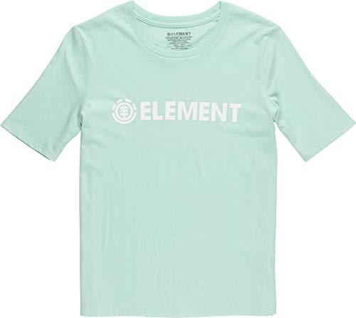 Element - Camiseta con logotipo para mujer, color negro Brook Green M