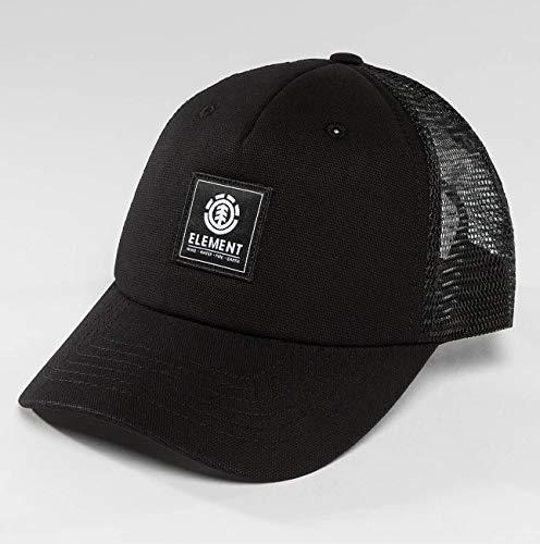 Element Icon Mesh Cap Caps, Hombre, All Black, One Size