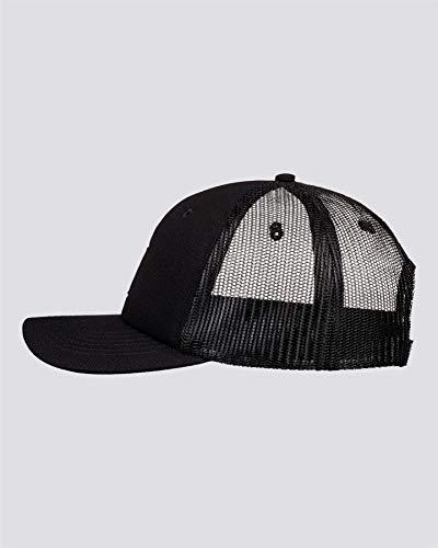 Element Icon Mesh-Gorra con Ajuste Posterior para Hombre, All Black, Talla única