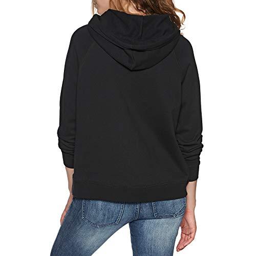 Element Modern Hood - Sudadera con Capucha para Mujer Negro S