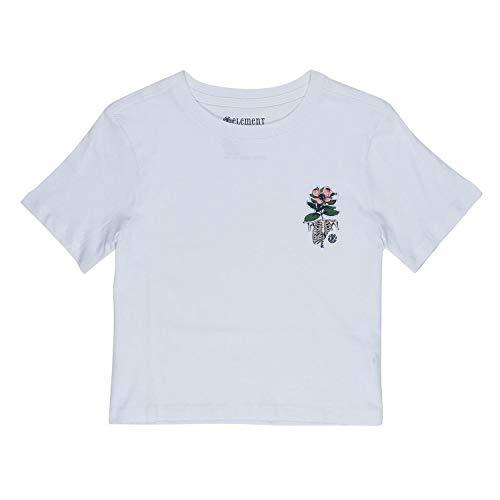 Element Optimit Q3SSA6ELF9 - Camiseta para mujer blanco S