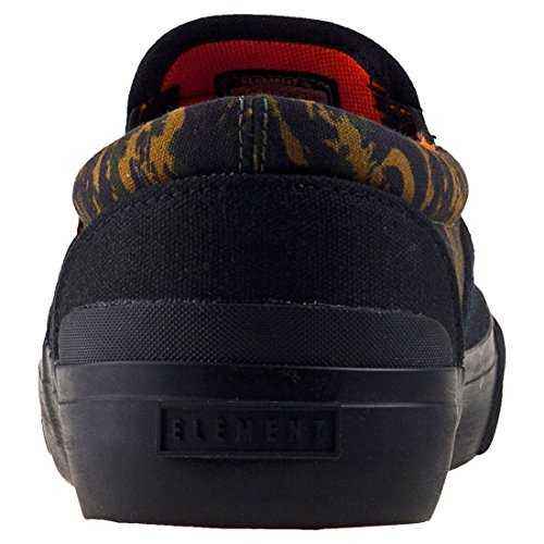 Element Spike Slip - Zapatillas para hombre sin cordones, color Negro, talla 9 UK