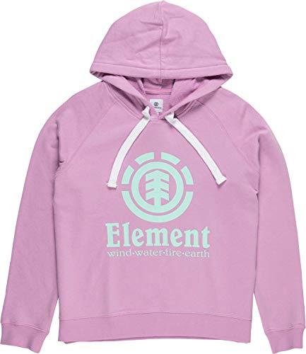Element - Sudadera con Capucha para Mujer, diseño de orquídeas Orchid S