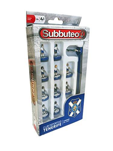Eleven Force Subbuteo Teambox CD Tenerife (63805), Multicolor, Ninguna