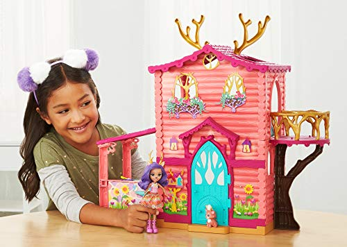 Enchantimals - Supercasa del bosque y muñeca Danessa - (Mattel FRH50)
