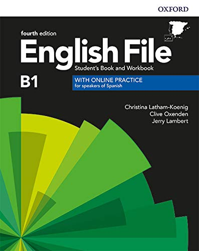 English File 4th Edition B1. Student's Book and Workbook without Key Pack (English File Fourth Edition)