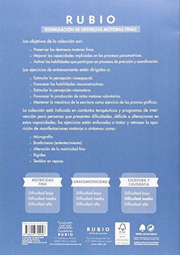 Estimulación de destrezas motoras finas: escritura y caligrafía (dificultad media): 2