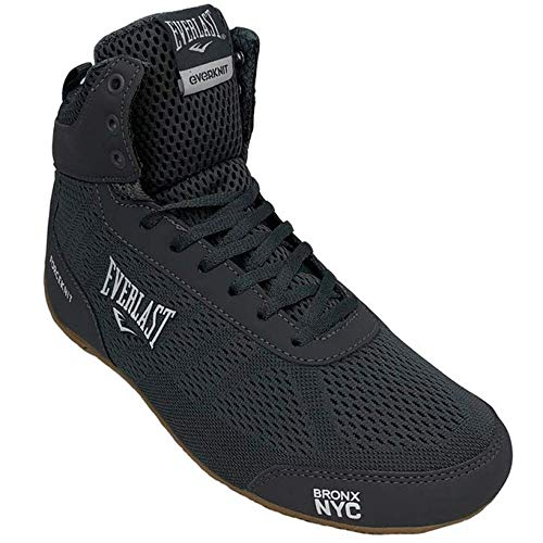 Everlast Forceknit - Zapatillas de boxeo unisex para adultos, color Negro, talla 40 EU