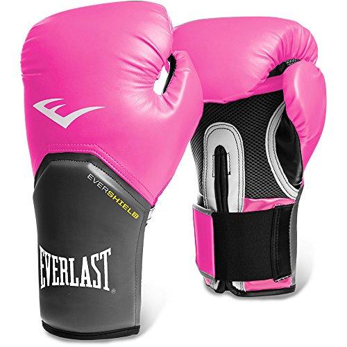 Everlast Pro Style - Guantes de boxeo, color rosa, talla 14 onzas